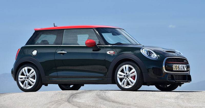 mini cooper 3 portes john cooper work 2016. Black Bedroom Furniture Sets. Home Design Ideas